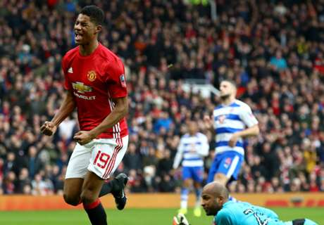 Rashford still Zlatan's Man Utd heir