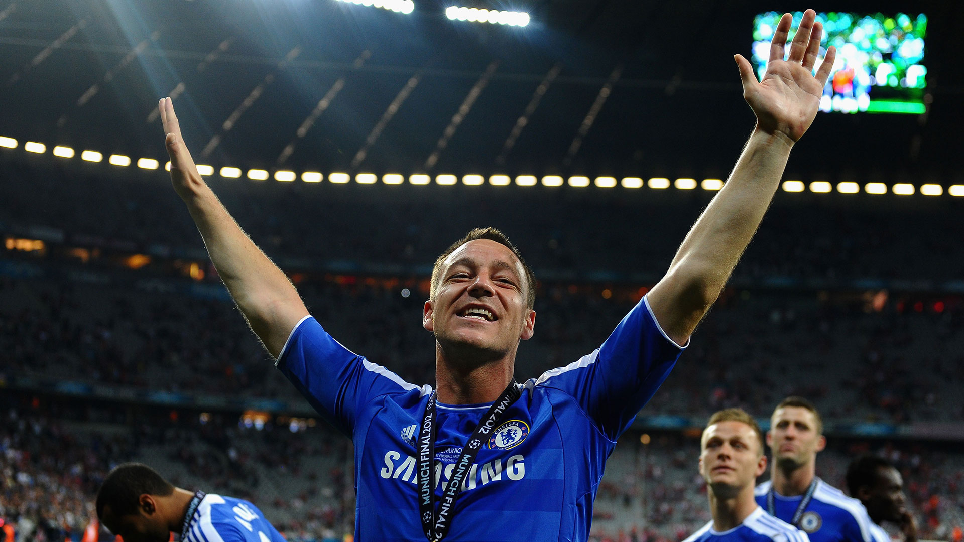 John Terry Chelsea Champions League 2012