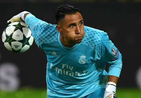 De Gea? Courtois? Only Navas for Madrid