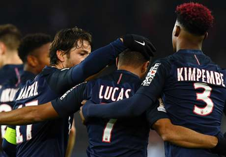 Lucas at the double for PSG