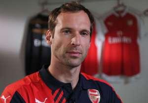 Cech menjadi pilihan pertama di Stamford Bridge sebelum Thibaut Courtois bergabung dari Atletico Madrid musim panas lalu.