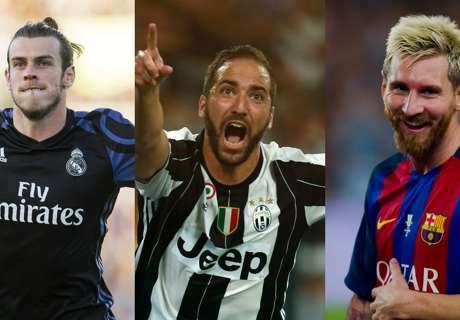 Ronaldo, Messi et les 20 candidats pour le titre de meilleur buteur de la C1