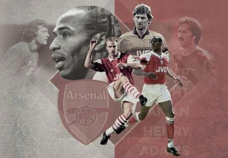 Top-20-Spieler des FC Arsenal