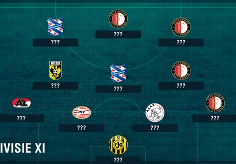 Eredivisie XI of the season so far