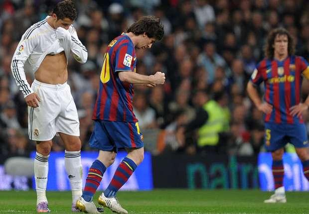 Messi streaks ahead in personal goal battle with Ronaldo