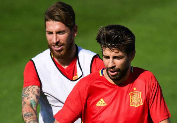 Pique is a step above Sergio Ramos, claims Maradona