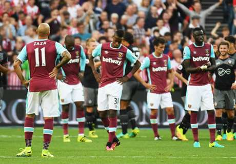 West Ham fearing shock relegation
