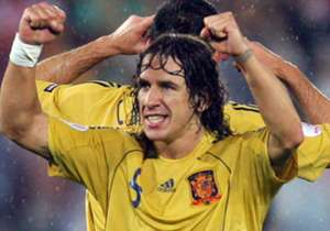 "Former Spain and Barcelona defender Carles Puyol has picked his ultimate European Championship XI as part of Uefa's fan vote. You can take part <a href=""http://alltime11.uefa.com/en/star-selection"" target=""_blank"">here</a>."