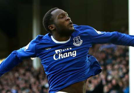 Lukaku equals Everton scoring record