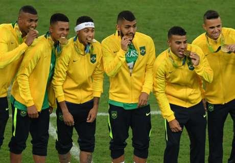 Cara Brasil Merayakan Medali Emas Olimpiade
