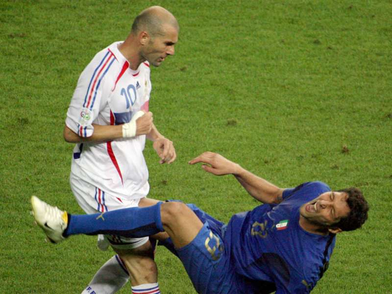 Materazzi reveals what he really said to Zidane in 2006 World Cup final