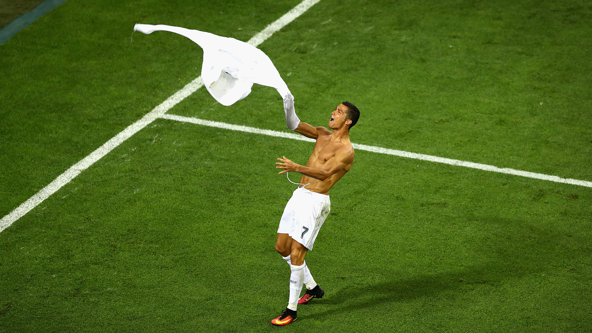 Cristiano Ronaldo Real Madrid Atletico Champions League final