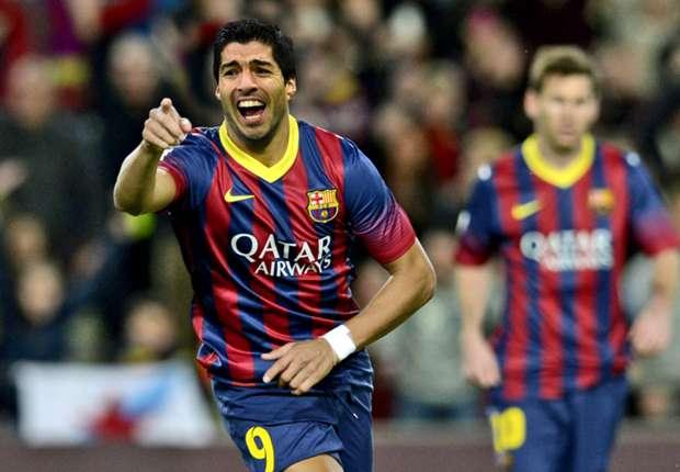Wird bis Ende Oktober nicht im Barca-Trikot auflaufen: Luis Suarez