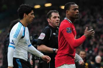 Has Evra made peace with Luis Suarez?