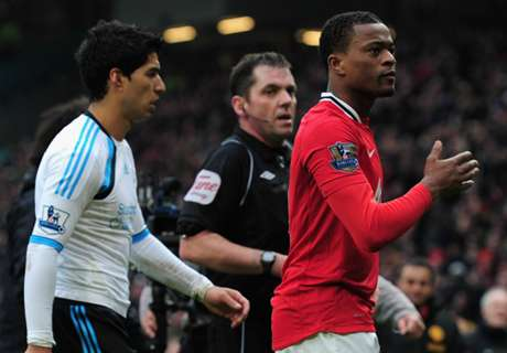 Evra: No problem with Suarez
