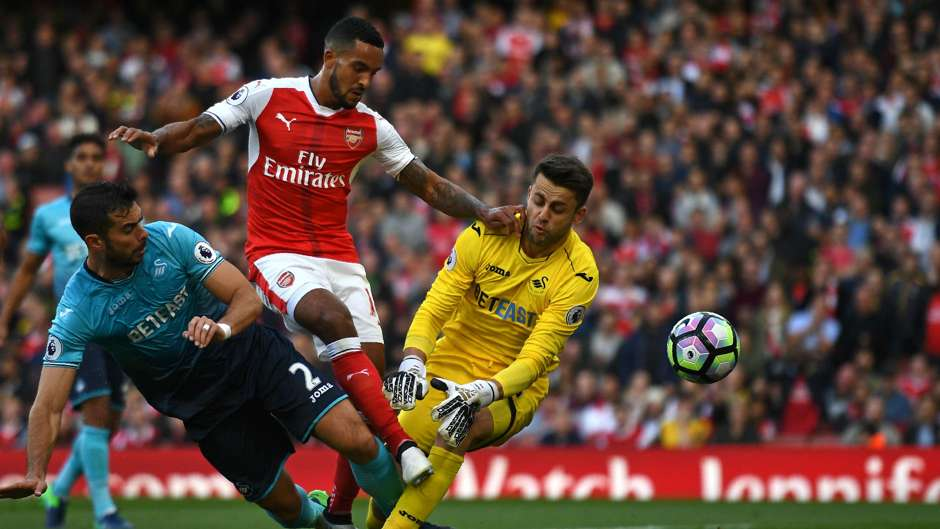 Lukasz Fabianski Premier League Arsenal v Swansea 161016