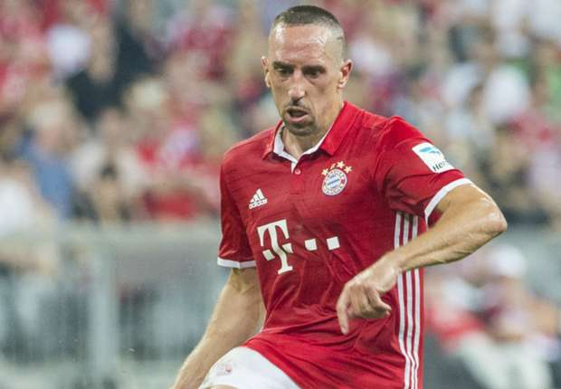 Ribery signs new Bayern contract until 2018
