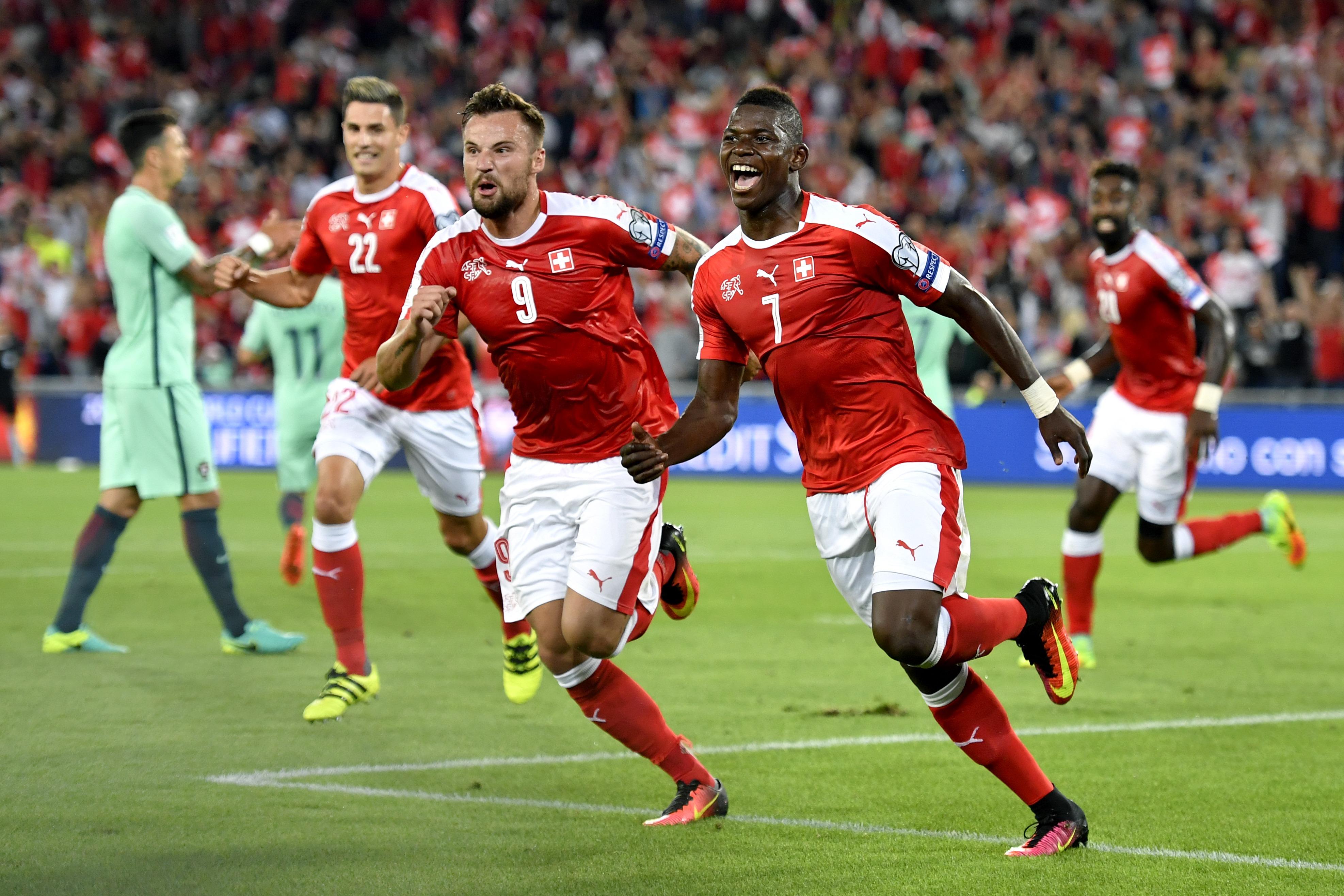CR7 non c'è il Portogallo cade 2-0 in Svizzera