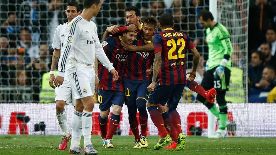 Lionel Messi Barcelona Real Madrid 2014