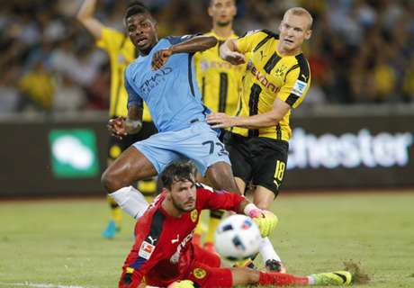 Adu Penalti, City Tekuk Dortmund