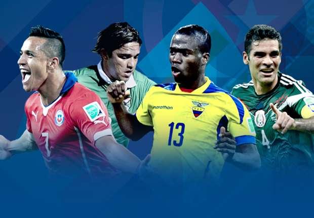 DAFTAR LENGKAP Skuat Copa America 2015 - Goal.com
