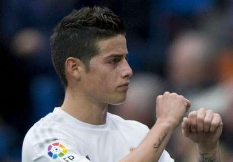 Real Madrid, Zidane encense James