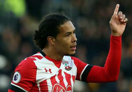 Van Dijk left out of Saints squad