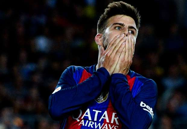'Eight points!' - Pique hits out at referees after controversial Madrid penalty