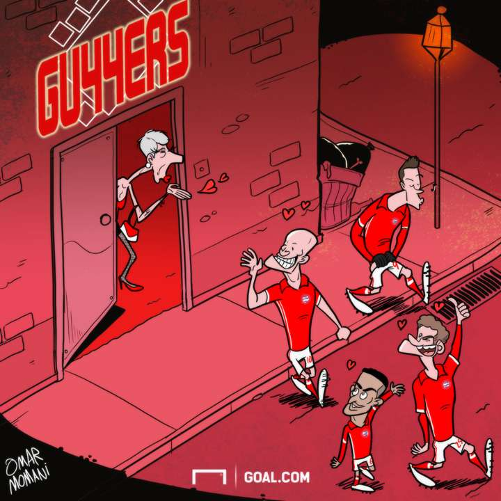 Arsenal cartoon brothel