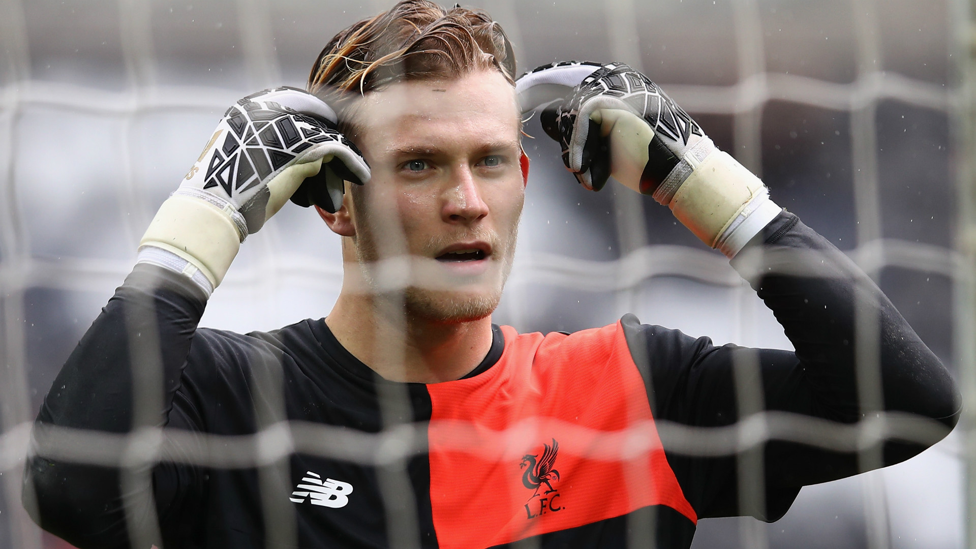 HD Loris Karius Liverpool goalkeeper