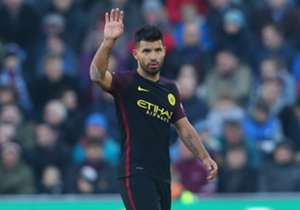 Sergio Aguero found the net twice to see Man City past Burnley, while PSG's Edinson Cavani notched up three strikes in two matches - but who else makes the cut for FIFA 17's Ultimate Team of the Week?
