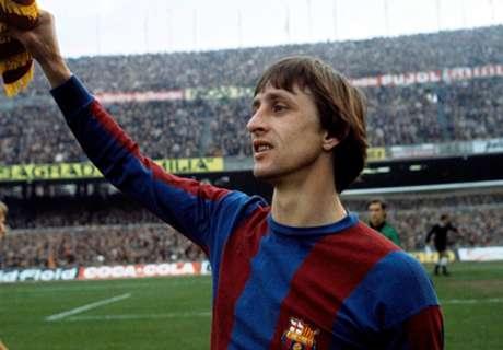 Cruyff homenageado