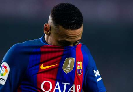 VIDEO: Neymar shoves rival down stairs