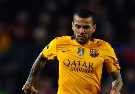 Dani Alves: I'm fully fit for Copa