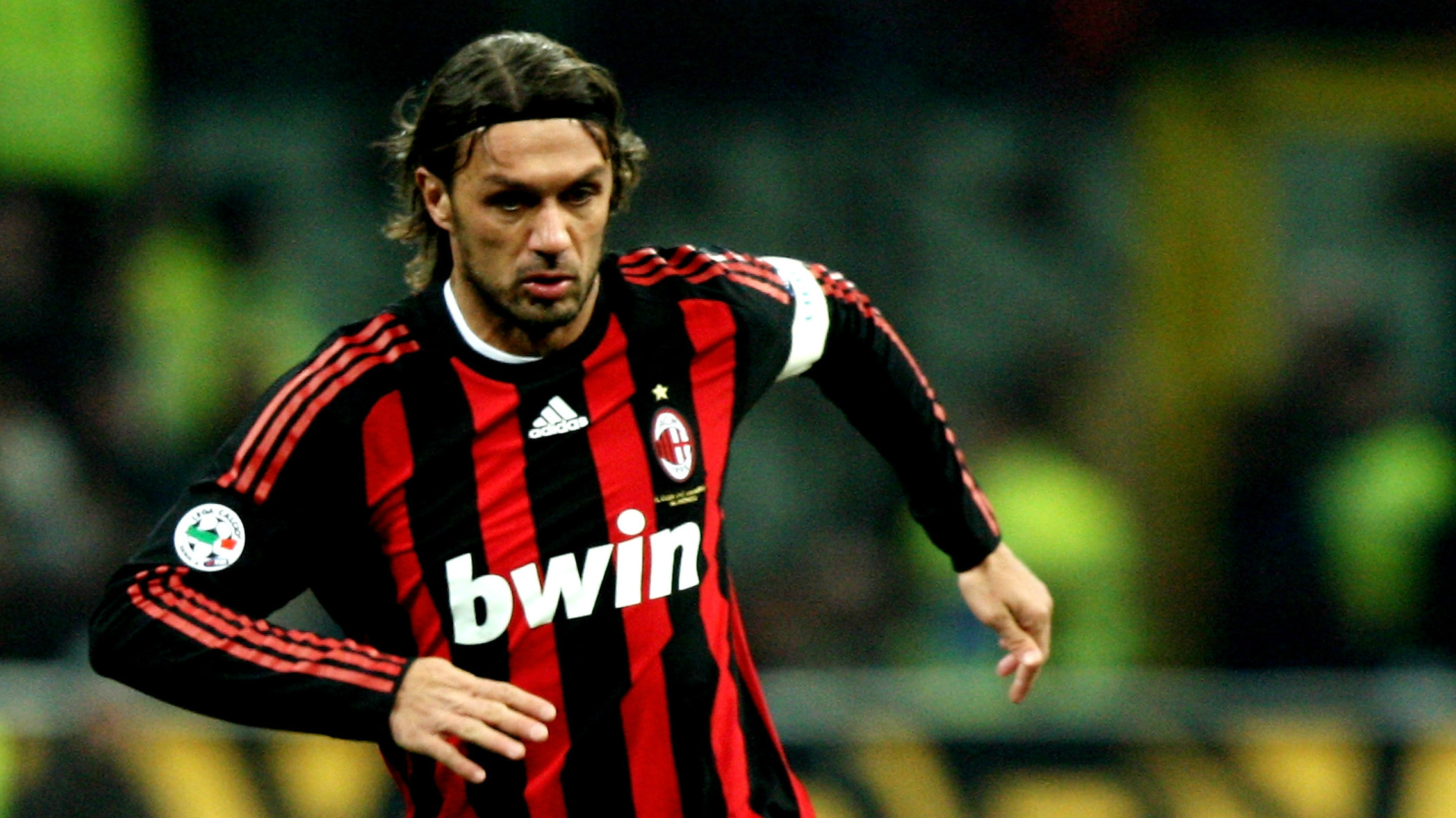 Paolo Maldini AC Milan Serie A Goal