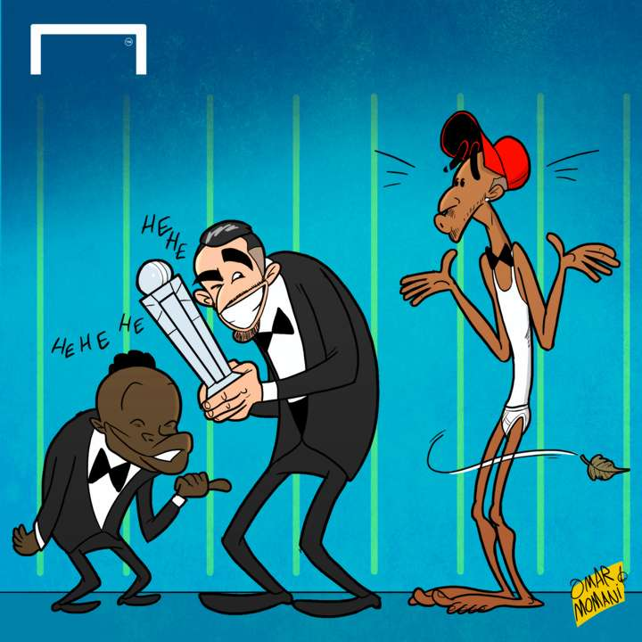 Cartoon Mahrez is African POTY