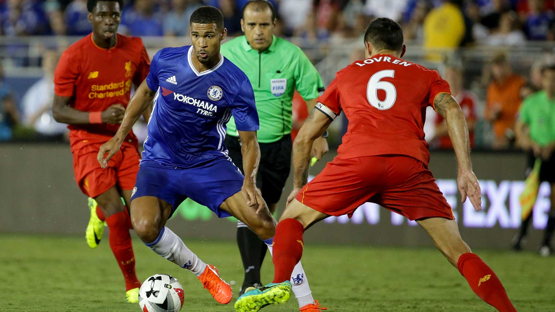 Ruben Loftus-Cheek against Liverpool