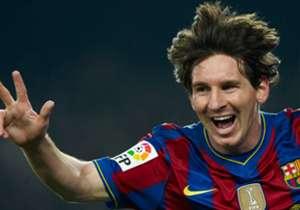 14/03/2010 – Barcelona 3-0 Valencia – Otros tres goles más de la Pulga, siendo uno de ellos seleccionado para el Premio Puskas 2010.