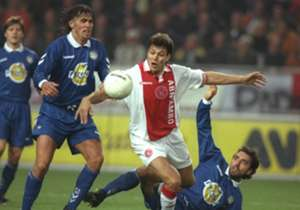 4. Jari Litmanen (4 goals in 6 games) | The retired forward was one of the stars of Ajax's great side of the mid-1990s. He scored in a stunning 5-2 win over Bayern Munich in 1995 and struck twice against Panathanaikos a year later. Litmanen also bagged...