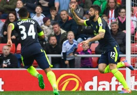 Arsenal ganó y sigue arriba