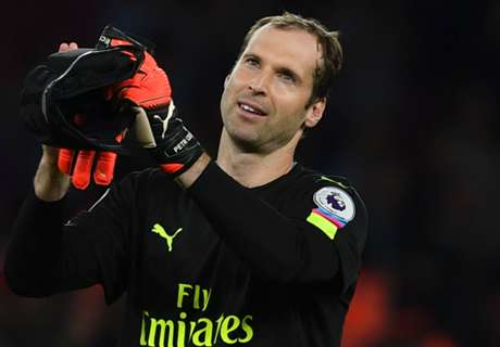 WATCH: Cech's rabona against Ospina