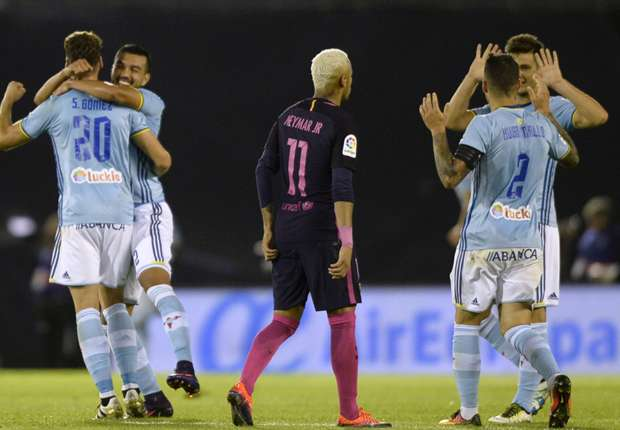 Barcelona suffer defeat at Celta Vigo
