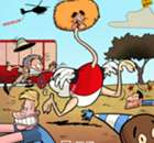 CARTOON: Fellaini the ostrich