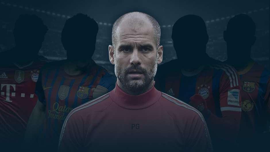 Pep Guardiola Best XI cover