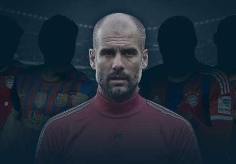 El mejor XI dirigido por Guardiola