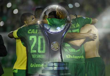 Chapecoense to be awarded title