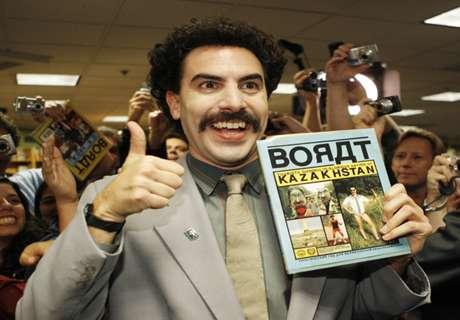 Van der Wiel: ¿Kazajistán? Solo Borat