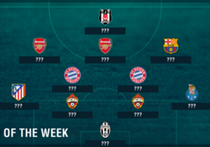 The third week of the Champions League campaign brought immense excitement and plenty of goals as Barcelona, Bayern Munich and Arsenal all won big. There were some dazzling individual displays and, with data from Opta, Goal has put together the best XI...