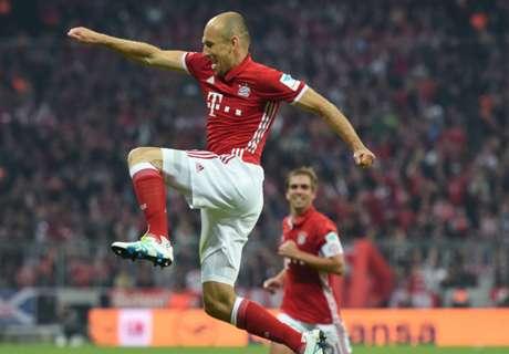 Robben viert Bayern-rentree met goal
