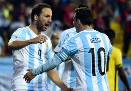 Messi in, Higuain out for Argentina